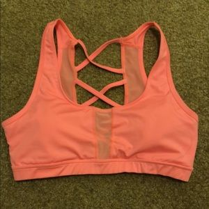 Other - Criss cross coral sports bra